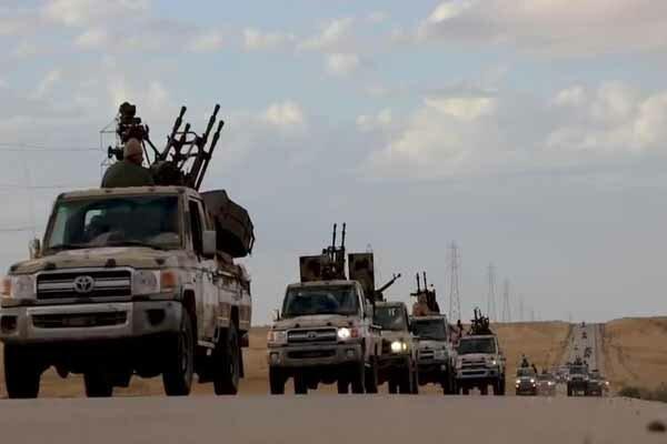 تسلیم شدن یکی از گردانهای ارتش خلیفه حفتر در جنوب طرابلس
