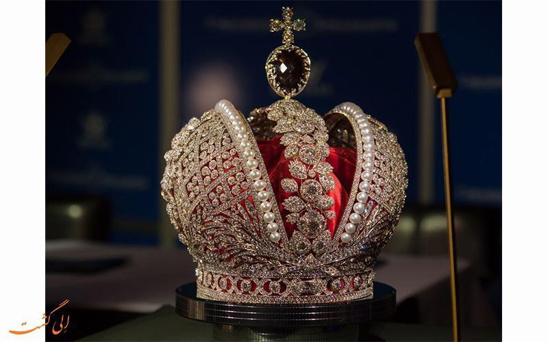 ارزشمندترین موزه در سرتاسر روسیه، صندوق الماس مسکو