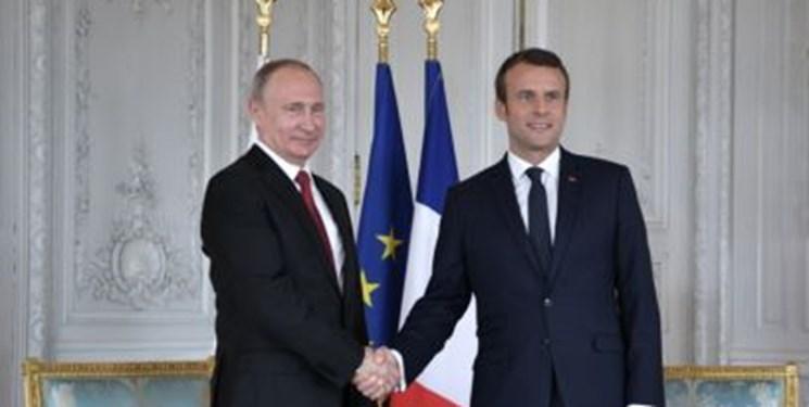 رویترز: ماکرون میانجی بهبود روابط روسیه و اوکراین می شود