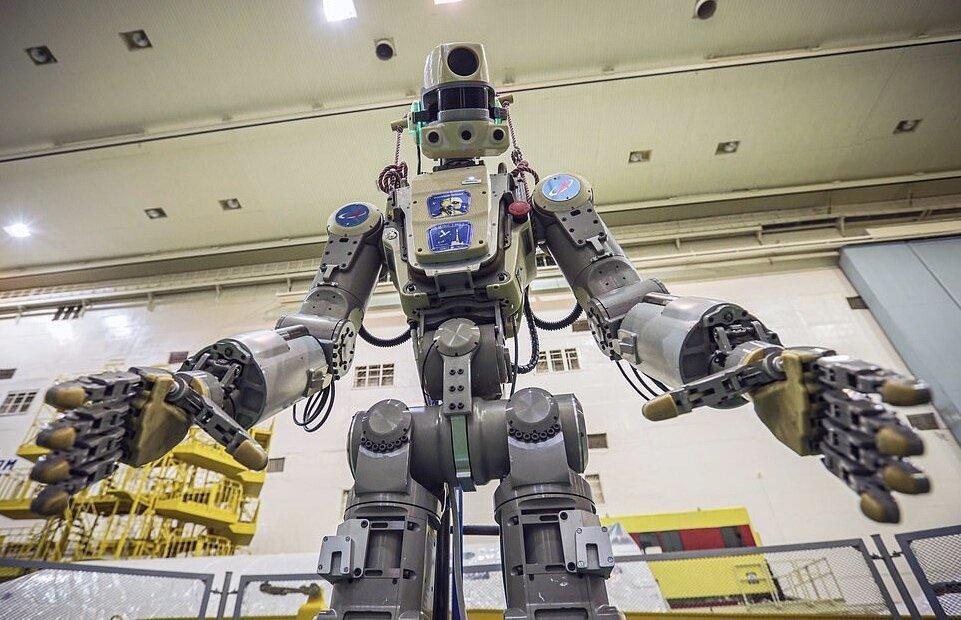 روبات انسان نمای روسیه به ایستگاه فضایی می رود