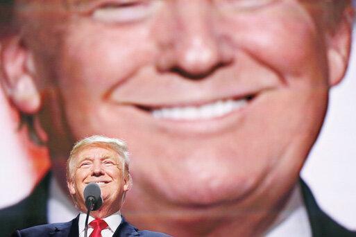ترامپ رقیب انتخاباتی خود را کله پوک خواند