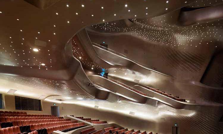 پنج نمونه از باشکوه ترین تئاترهای دنیا را بشناسید