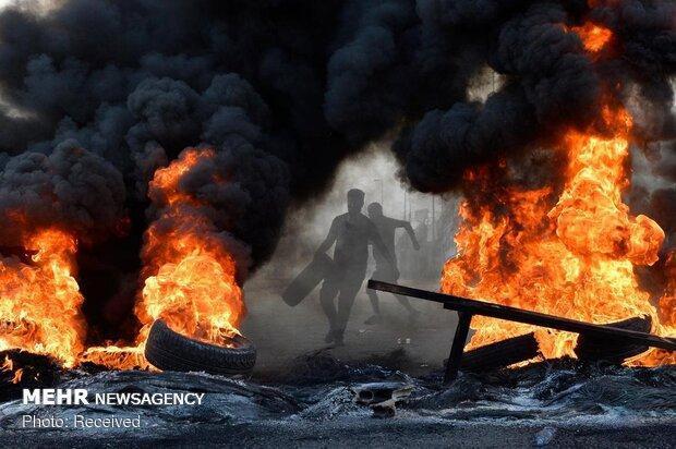 پنجمین روز اعتراضات در لبنان، معترضان خیال بازگشت ندارند