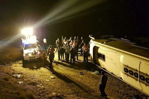 اعلام آخرین وضعیت مصدومان سانحه الیگودرز - ازنا