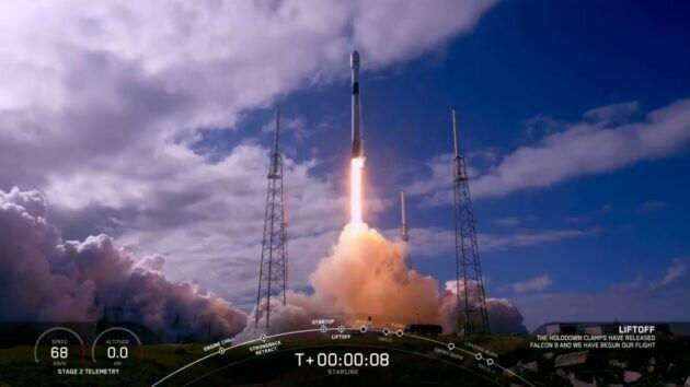 اسپیس ایکس 60 ماهواره اینترنتی دیگر استارلینک را به فضا می فرستد