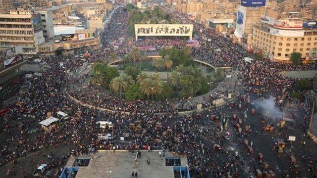آمریکا برای بین المللی کردن پرونده تظاهرات عراق کوشش می نماید
