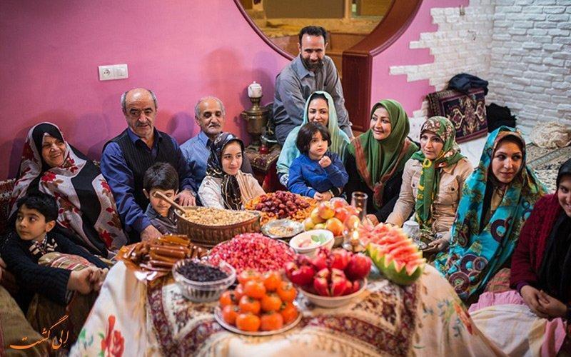 شب چله در مناطق مختلف ایران چگونه برگزار می گردد؟