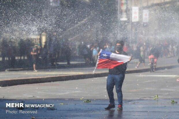 ادامه اعتراضات ضد دولتی در شیلی، افزایش شمار قربانیان به 24 نفر