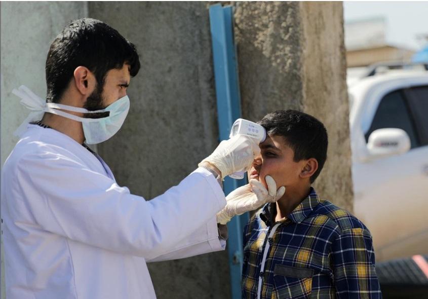نگرانی از شیوع کرونا در کمپ جنگ زدگان سوریه، امکانات لازم برای مقابله وجود ندارد