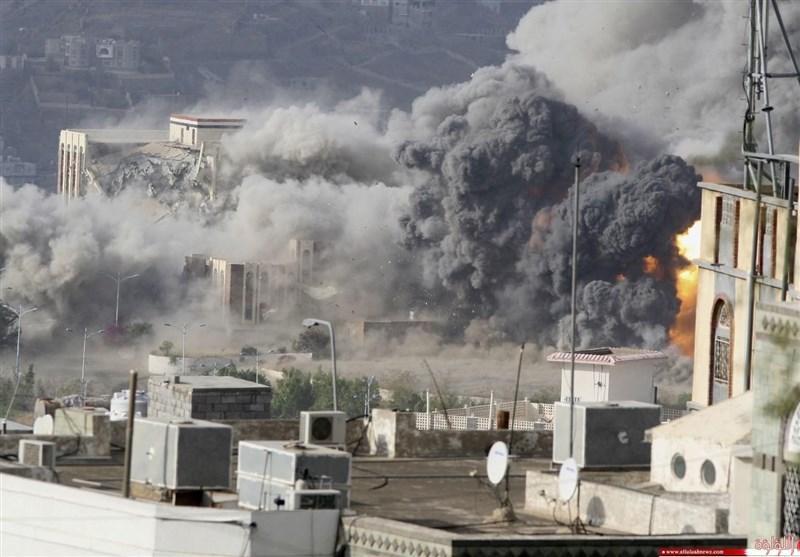 یمن ، حملات جنگنده های سعودی به مناطق مختلف صعده